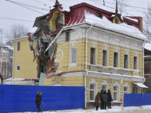 Нижний Новгород. Остановлен снос особняка Гузеевой
