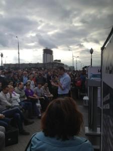 Алексей Навальный. Смысл встреч с избирателями у метро