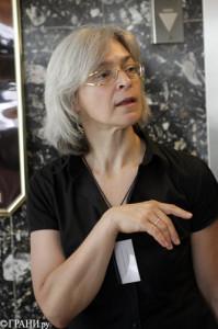 Анна Политковская. 2006г.