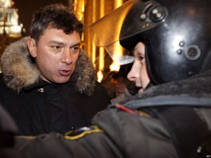 Задержание Немцова 31 декабря
