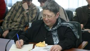 Татьяна Михайловна Котляр - депутат муницапального собрания г. Обнинск (архив)