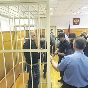 Андрей Пивоваров оставлен под арестом на два месяца