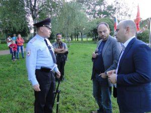 Питерский ПАРНАС, встреча-концерт в Полюстровском парке, 7