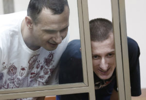 Ukrainian film director Sentsov sentenced to 20 years in prison colony